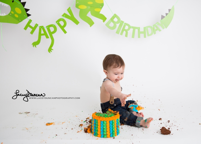 008_dino_smash_cake_little_rock_photographer