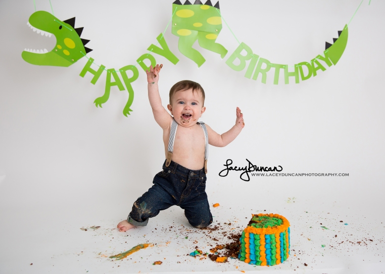 013_dino_smash_cake_little_rock_photographer